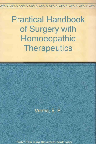 9780861861118: Practical Handbook of Surgery with Homoeopathic Therapeutics