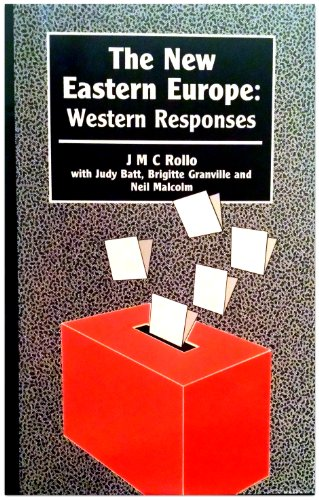 9780861871148: The New Eastern Europe: Western Responses (Chatham House papers)