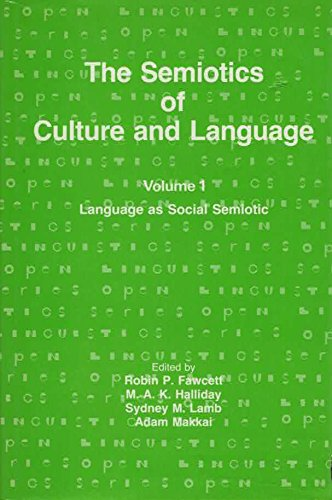 9780861872954: 001: The Semiotics of Culture and Language: Language As Social Semiotic (Open linguistics series)