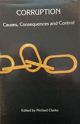 9780861873401: Corruption, causes, consequences, and control