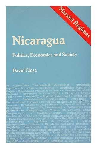 9780861874354: Nicaragua: Politics, Economics, and Society (Marxist Regimes Series)