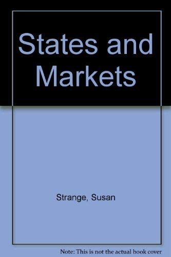 9780861879427: States and markets