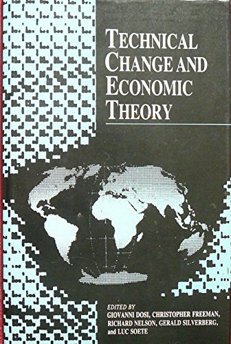 9780861879496: Technical change and economic theory (IFIAS research series)