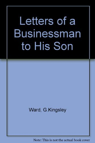 9780861887231: Letters of a Businessman to His Son