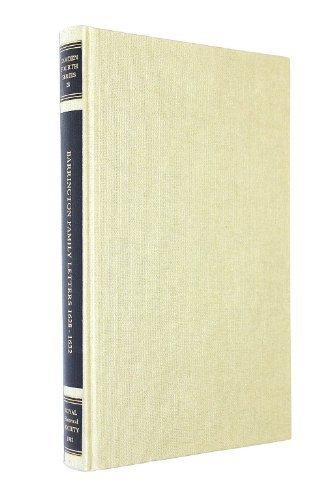 9780861930982: Barrington Family Letters 1628-1632 (Camden Fourth Series, 28)