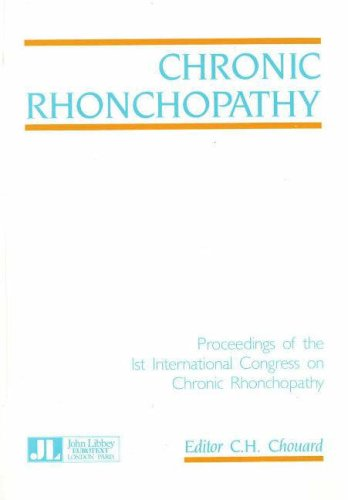 9780861961573: Chronic Rhonchopathy