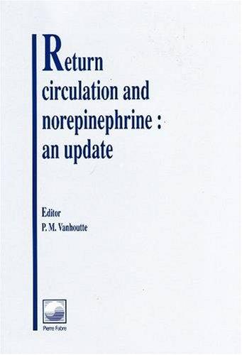 Return Circulation &Norepineph: Vanhoutte Pm