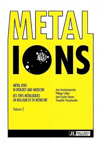 Metal Ions in Biology and Medicine: Collery, Philippe (Editor)