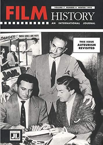 9780861964925: Film History: Auteurism Revisited Vol 7, no 4