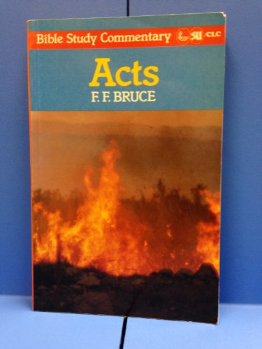 9780862011123: Acts (Bible Study Commentary)
