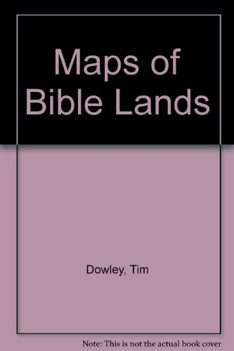 9780862014414: Maps of Bible Lands