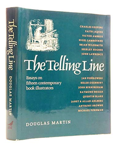 9780862033330: Telling Line: Essays on 15 Contemporary Book Illustrators