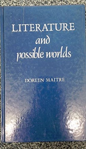 9780862060091: Literature and Possible Worlds