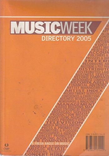 9780862131449: Music Week Directory