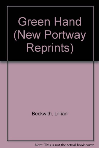 9780862205546: Green Hand (New Portway Reprints)