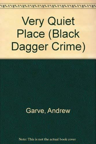 9780862207304: A Very Quiet Place (Black Dagger Crime Series)