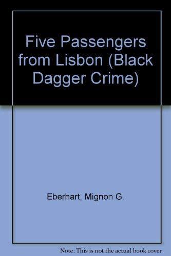 9780862207397: Five Passengers from Lisbon (Black Dagger Crime)