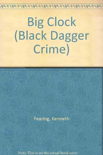 9780862207410: Big Clock (Black Dagger Crime)