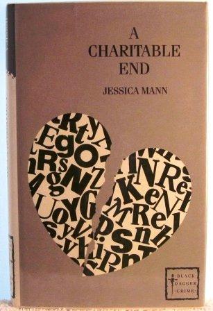 9780862208431: A Charitable End (Black Dagger Crime)