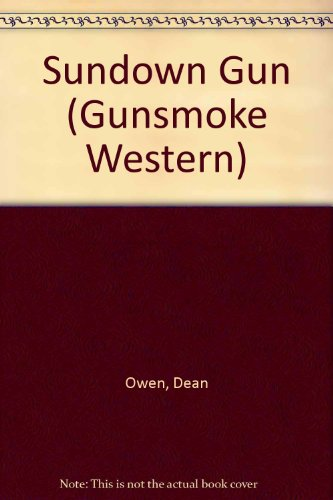 9780862209742: Sundown Gun (Gunsmoke Western Series)