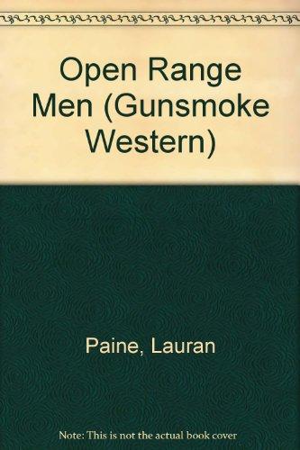 9780862209834: Open Range Men (Gunsmoke Western)