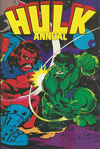 9780862270353: Incredible Hulk Annual 1982