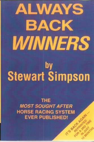 9780862280130: Always Back Winners: How to Win on the Horses