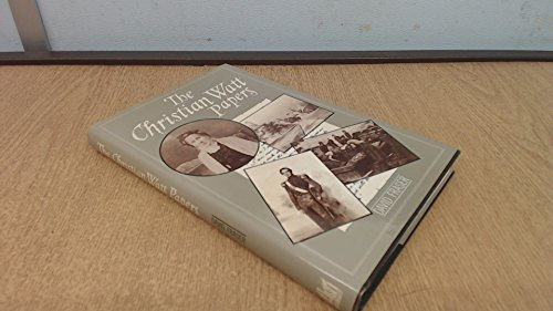 9780862280475: Christian Watt Papers