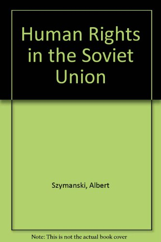 9780862320188: Human Rights in the Soviet Union