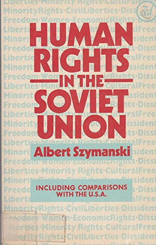 9780862320195: Human Rights in the Soviet Union