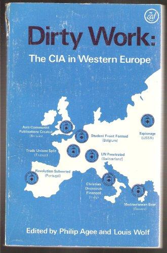 9780862320454: Dirty Work 1: The CIA in Western Europe: C.I.A.in Western Europe v. 1