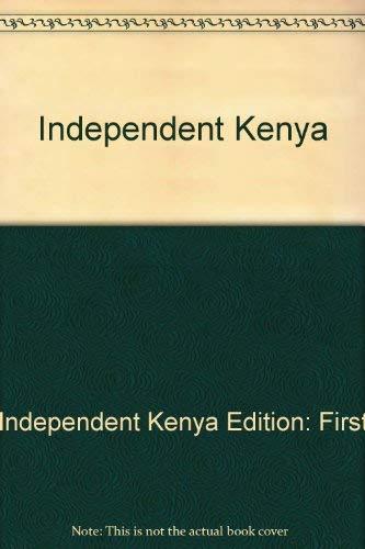 9780862320799: Independent Kenya
