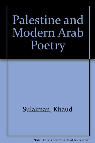 9780862322380: PALESTINE AND MODERN ARAB POE