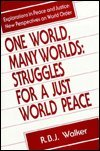 One World, Many Worlds: Struggles for a Just World Peace (Explorations in Peace & Justice), Walker, R.B.J.