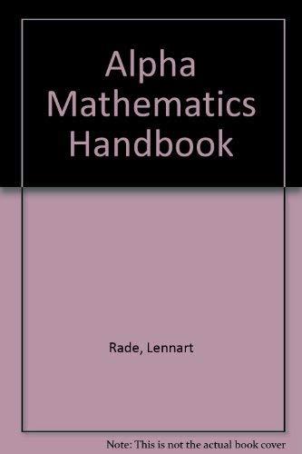 9780862380366: Alpha Mathematics Handbook