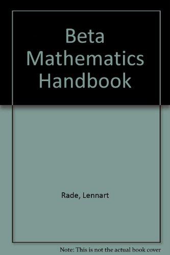 9780862381400: Beta, Mathematics Handbook