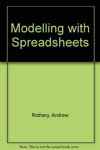 9780862382582: Modelling with Spreadsheets