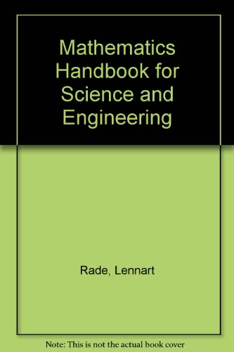 9780862384067: Mathematics Handbook: for Science and Engineering