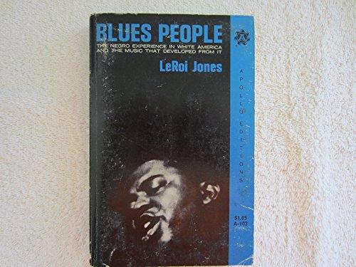 Blues People: Jones, LeRoi