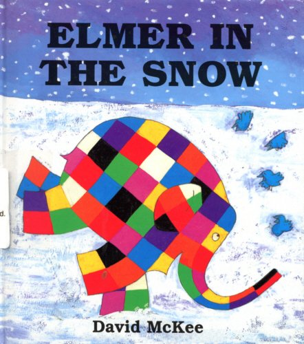 9780862649128: Elmer in the Snow