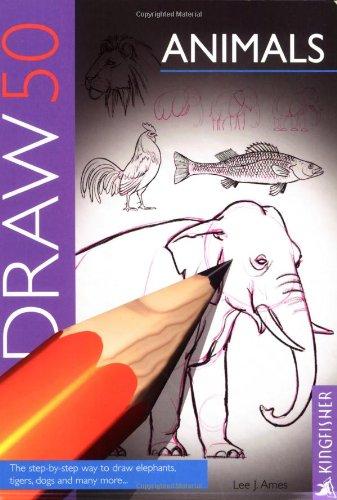 9780862723514: Draw 50 Animals