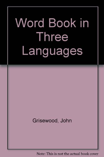 9780862723842: Word Book in Three Languages