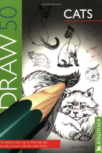 9780862724498: Draw 50: Cats