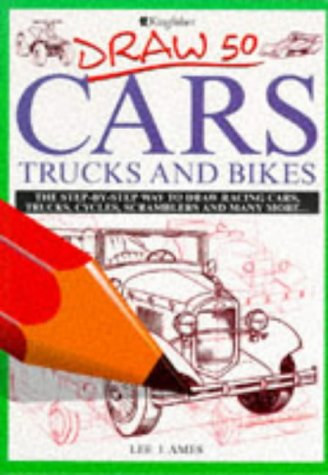 9780862724504: Draw 50 Cars, Trucks and Bikes (Draw 50)