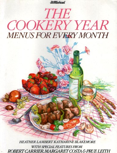 9780862730635: The Cookery Year Menus for Every Month