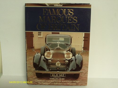9780862732394: Famous Marques of Britain