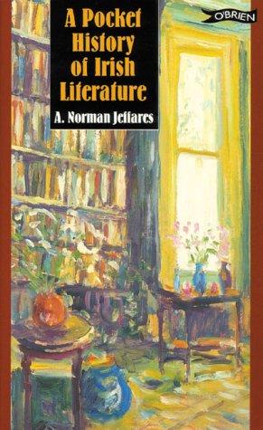A Pocket History of Irish Literature (0862785022) by Jeffares, A. Norman