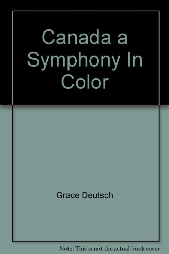 9780862834289: Canada a Symphony In Color