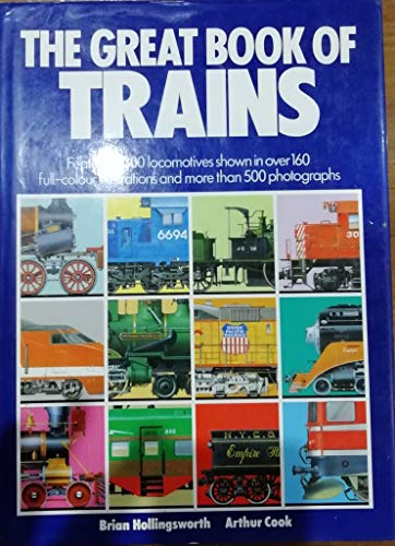 9780862837785: THE GREAT BOOK OF TRAINS.