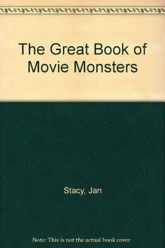 9780862870492: The Great Book of Movie Monsters